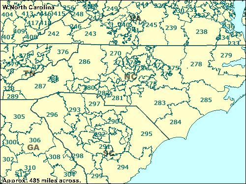 Trucksess Com Zcta Maps 200 299