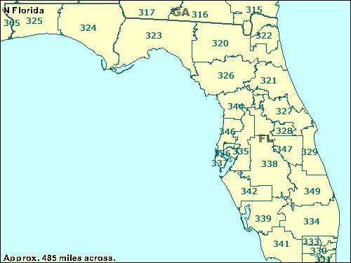 sw florida map with zip codes