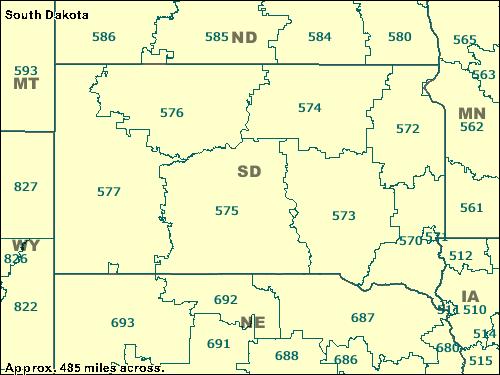 Trucksesscom ZCTA Maps - 570 area code