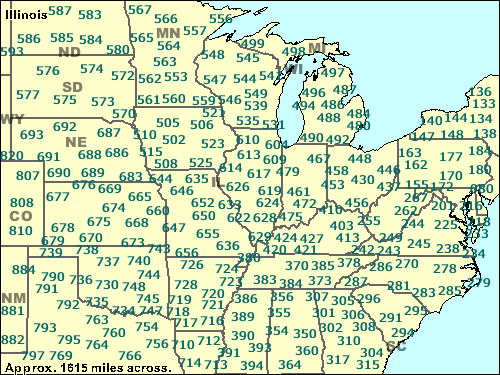 Area Code 603 Illinois