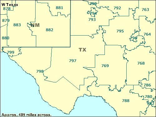 Trucksess.com - ZCTA maps 700/799