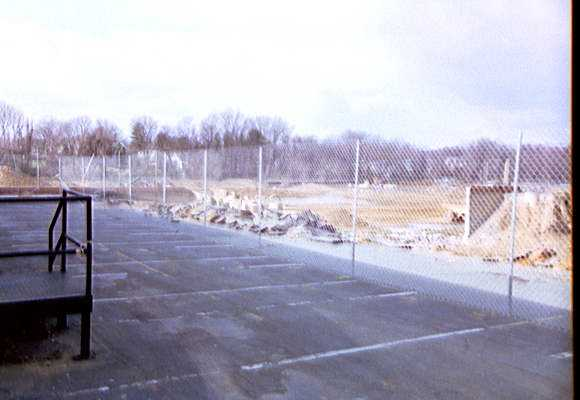 Ridley High School construction - SW parking